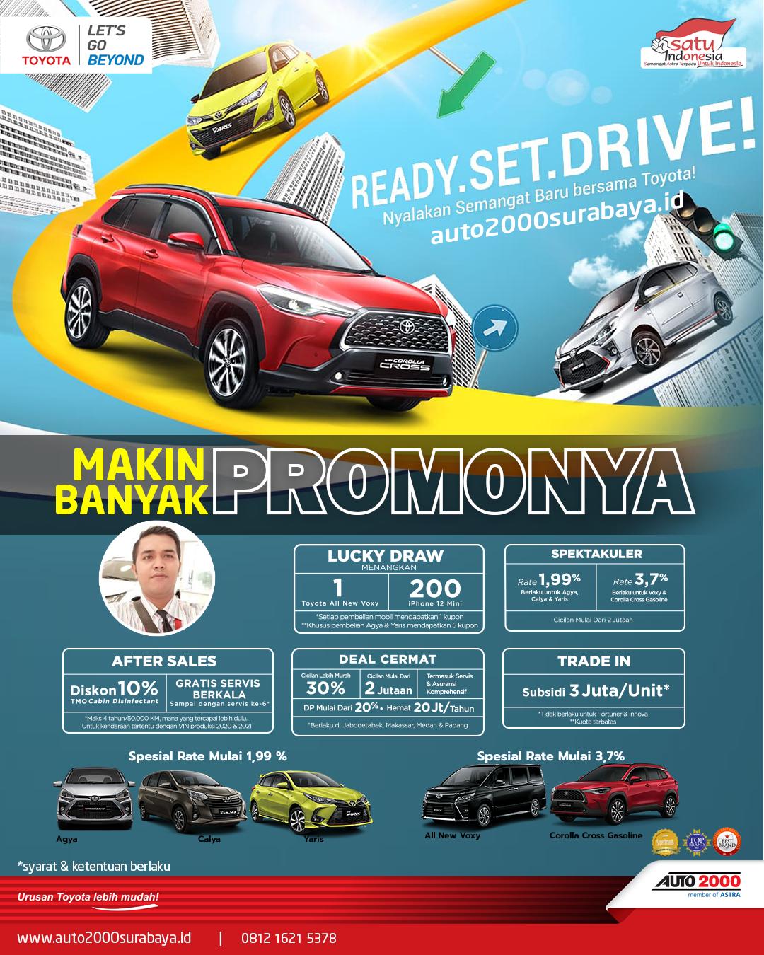 Promo Toyota Surabaya