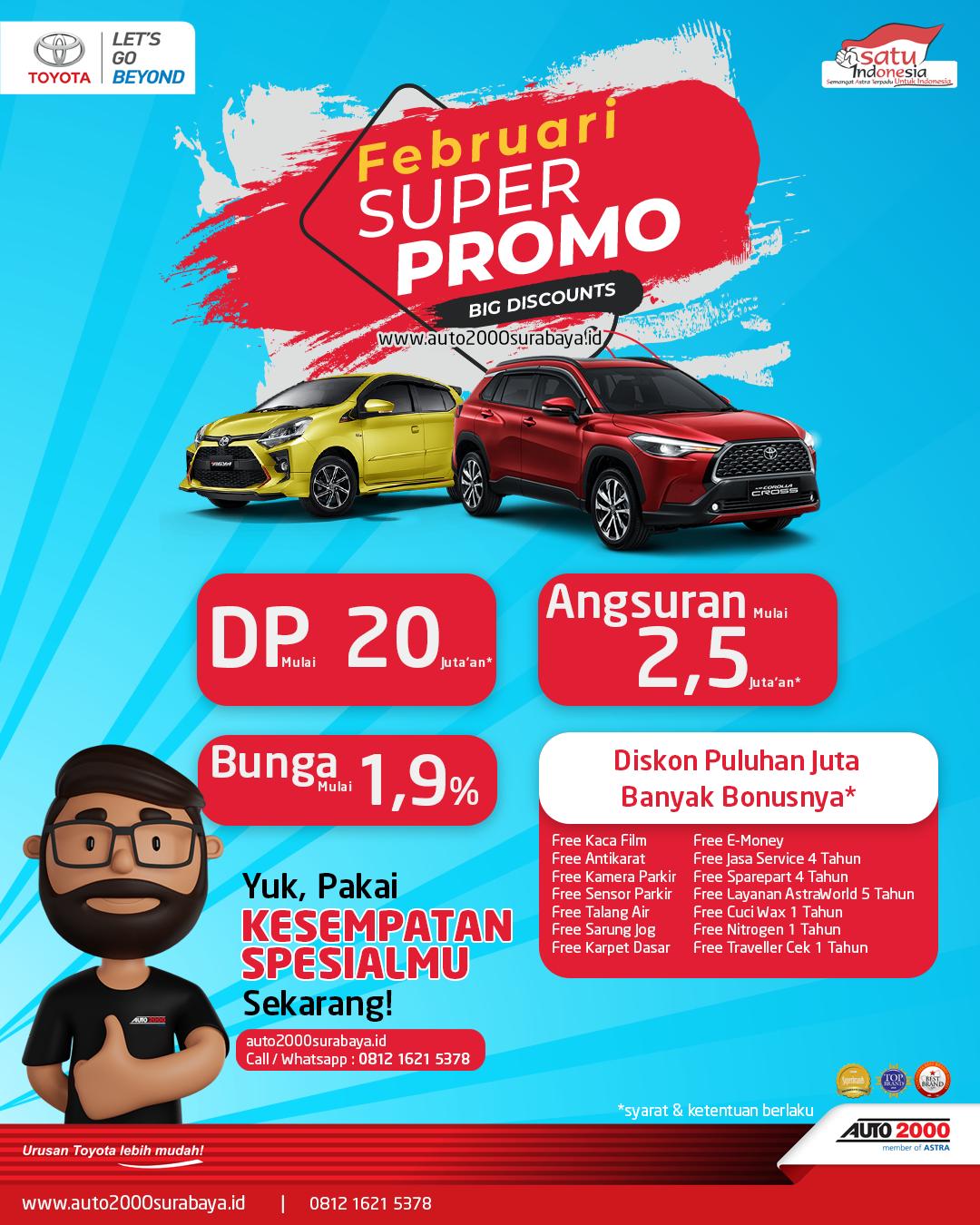 Super Promo Toyota Surabaya
